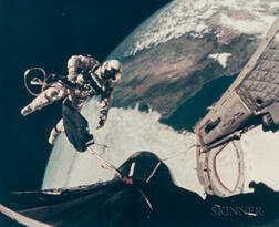 Recorded by a 16mm Camera Mounted to the Exterior of the Gemini 4 Spacecraft