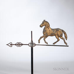 Trotting Horse Lightning Rod