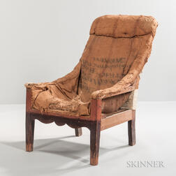 Country Sling-seat Lolling Chair