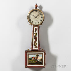 "Boston Patent Timepiece or ""Banjo"" Clock"