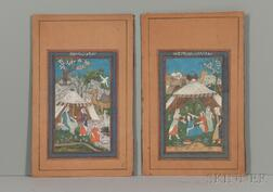 Pair of Miniature Paintings