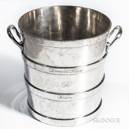 Reed & Barton Tremont Cafe Silver-plate Champagne Bucket