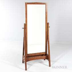 Contemporary Stickley Cheval Mirror