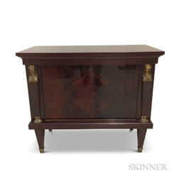 Empire-style Mahogany-veneered Cabinet