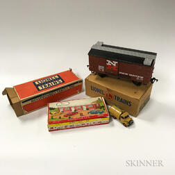 Large Group of Mostly Lionel Trains
