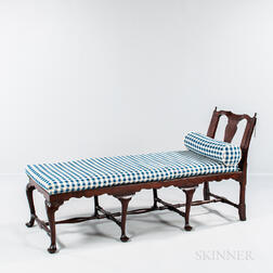 Queen Anne Walnut Day Bed