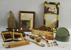 Group of Assorted 19th Century and Country Items