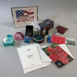 Group of Enron Memorabilia