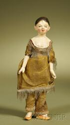 Late 18th century Wooden Lady