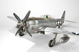 Republic-47D Thunderbolt U-control Model Airplane by Ernest Berke