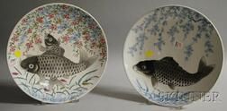 Two Japanese Export Porcelain Chargers