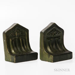 Pair of Arts and Crafts Bookends