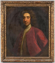 British School, 18th/19th Century      Portrait of a Gentleman, Said to be Lord Ashburton by Sir Joshua Reynolds