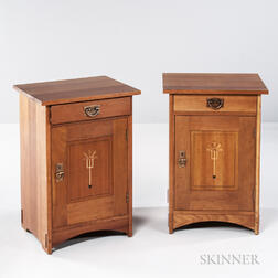 Two Stickley Harvey Ellis Nightstands