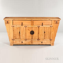 Shanghai Two-drawer Elmwood Coffer Table