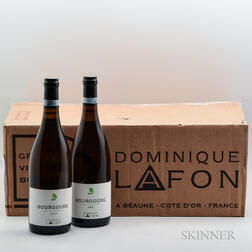 Dominique Lafon Bourgogne Blanc 2015, 12 bottles (oc)