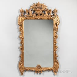 Continental Neoclassical-style Mirror