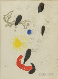 Joan Miró (Spanish, 1893-1983)      Composition VI