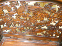 Carved Wood Dressing Table