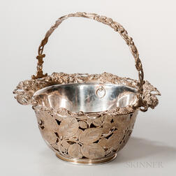 Tiffany & Co. Sterling Silver Basket