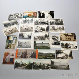 Mount Lebanon, New York, Postcards and Photographs and a Stereocard of Shaker Sister Sophia Helferich