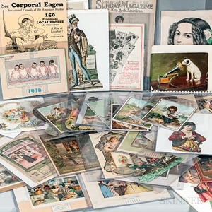 Group of 19th and 20th Century Ephemera