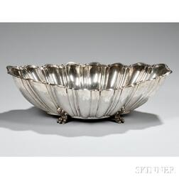 Reed and Barton Sterling Silver Fluted Footed Bowl