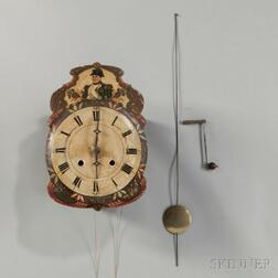 "Black Forest ""Wag-on-the-Wall"" Clock"