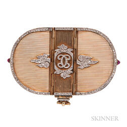 Belle Epoque Gold and Diamond Minaudiere, Cartier