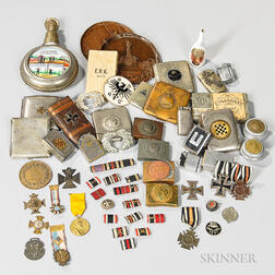 Group of Imperial German Objects