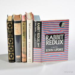 Updike, John (1932-2009) Five First Editions (Two Signed).