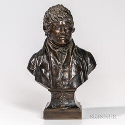 Bronze Bust of a Physician