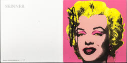 After Andy Warhol (American, 1928-1987)      Marilyn  /A Mailer for Andy Warhol: A Print Retrospective