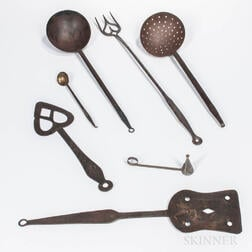 Seven Mostly Iron Tools
