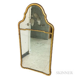 French-style Gilt and Etched Mirror