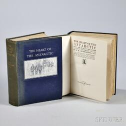 Shackleton, Sir Ernest Henry (1874-1922) The Heart of the Antarctic.