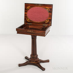 William IV Rosewood Sewing Stand