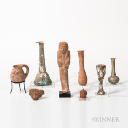 Group of Roman and Egyptian Antiquities