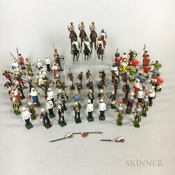 Eleven Sets of Britains Lead Soldiers