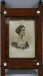 Lot of Seven Framed Works Depicting Queen Victoria and the Royal Family