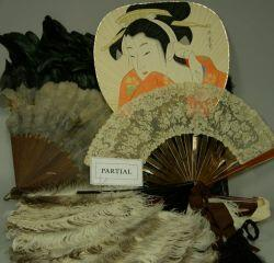 Collection of Late 19th Century and Early 20th Century Ostrich Feather and Assorted Hand Fans.