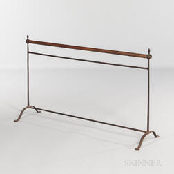 Shaker Brass and Iron Drying Rack