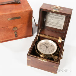 Hamilton U.S. Maritime Commission Model 21 Two-day Marine Chronometer