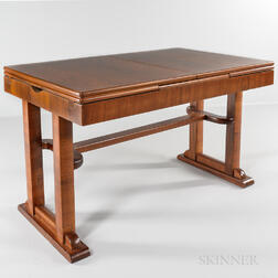 Viennese Rosewood and Walnut Table