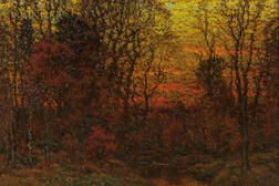 John Joseph Enneking (American, 1841-1916)      November Twilight