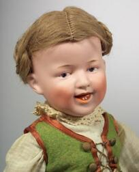 Gebruder Heubach Bisque Head Laughing Character Doll