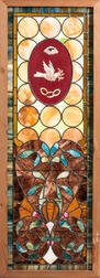 Odd Fellows/Rebekah Stained Glass Window
