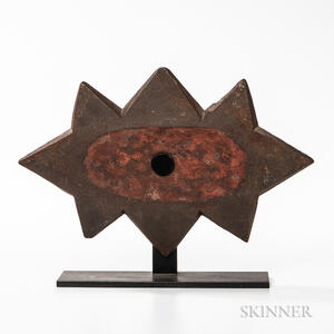 Cast Iron Building Double Star