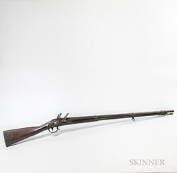 Asa Waters Model 1816 U.S. Flintlock Contract Musket