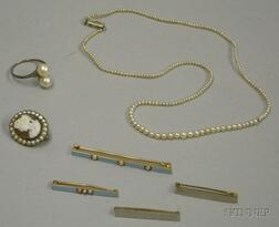 Small Group of Assorted Estate and Antique Jewelry
